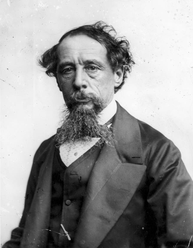 Una foto di Charles Dickens