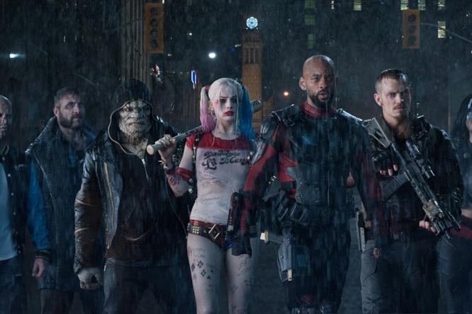 I membri di Suicide Squad nel film