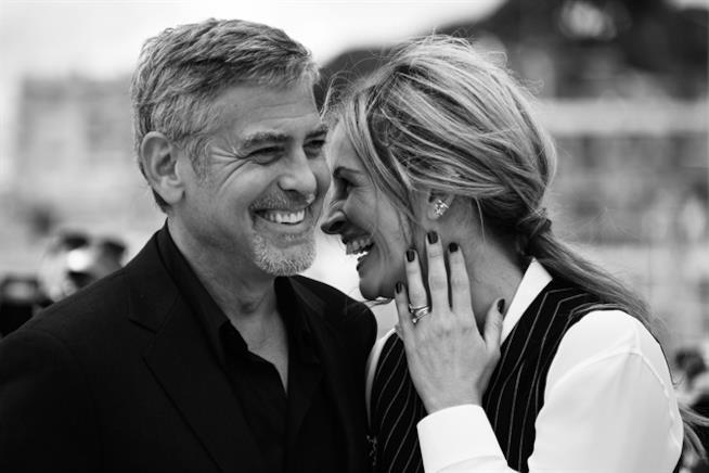 Julia Roberts e George Clooney, felici insieme