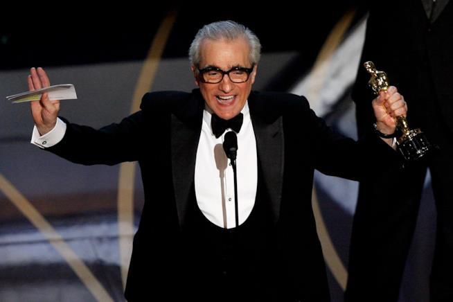 Martin Scorsese alla 79esima cerimonia degli Oscar