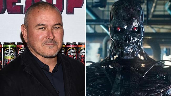 Tim Miller e un Terminator