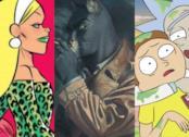 Cinzia, Blacksad e Rick and Morty