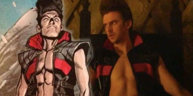 Mezzibusti dei due Legion, dalle pagine del fumetto e nella serie TV