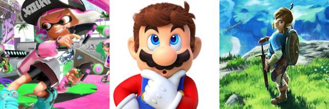 Splatoon 2, Super Mario Odyssey e Breath of the Wild in offerta per il Black Friday
