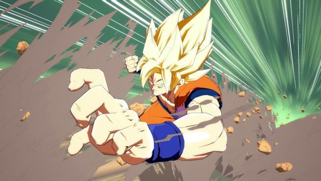 Goku in Dragon Ball FighterZ