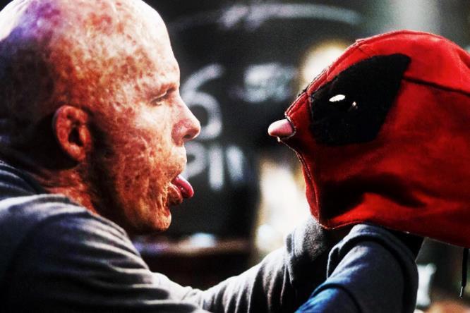 Deadpool senza maschera mostra il suo nuovo volto