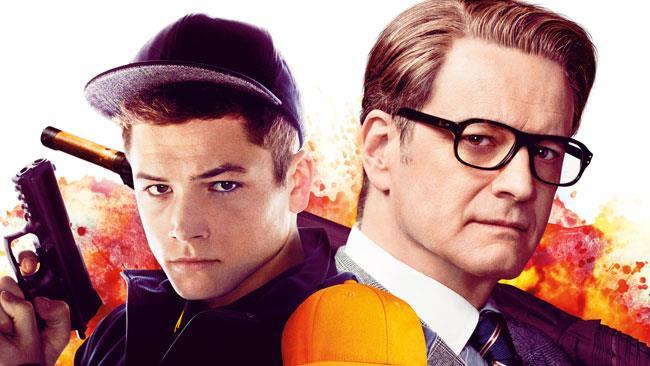 Taron Egerton e Colin Firth, protagonisti di Kingsman