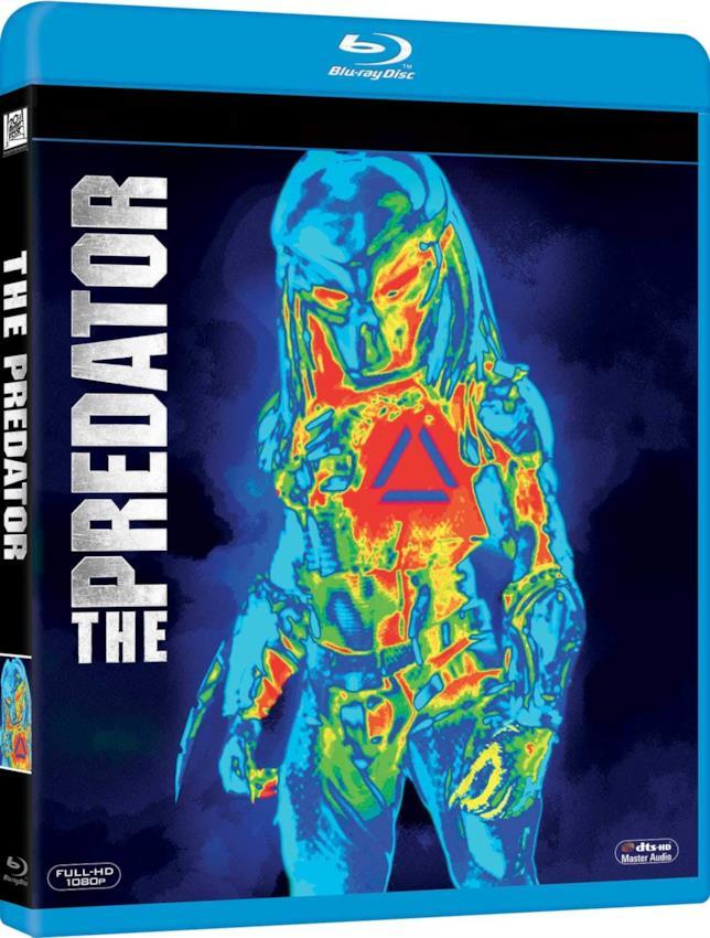 The Predator, la cover del Blu-Ray