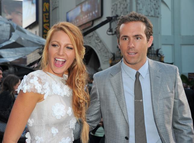 3- Ryan Reynolds e Blake Lively alla prima di Lanterna Verde