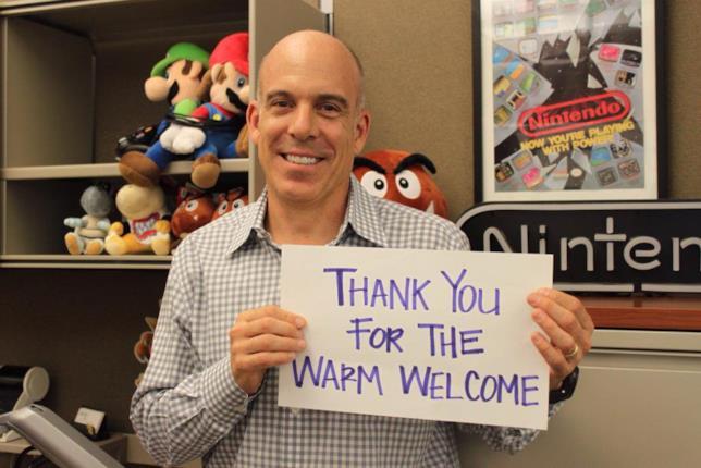 Doug Bowser al suo arrivo in Nintendo
