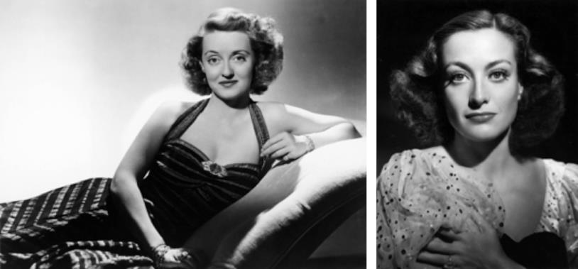 È celebre la faida tra Bette Davis e Joan Crawford