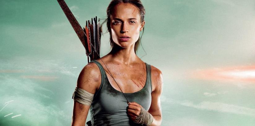 Alicia Vikander nei panni di Lara Croft in Tomb Raider