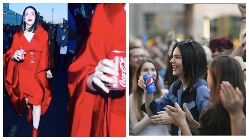 Madonna e Kendall Jenner