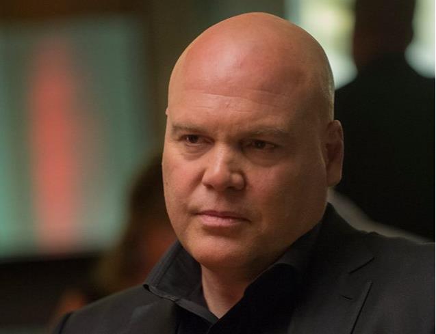 Vincent D'Onofrio nei panni di Kingpin in Daredevil