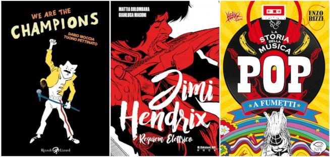 Tre consigli a tema musicale per un Natale a fumetti