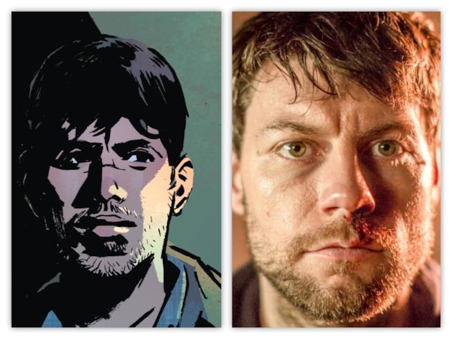 Kyle Barnes fra fumetto e serie TV