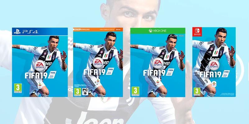 Le boxart di FIFA 19