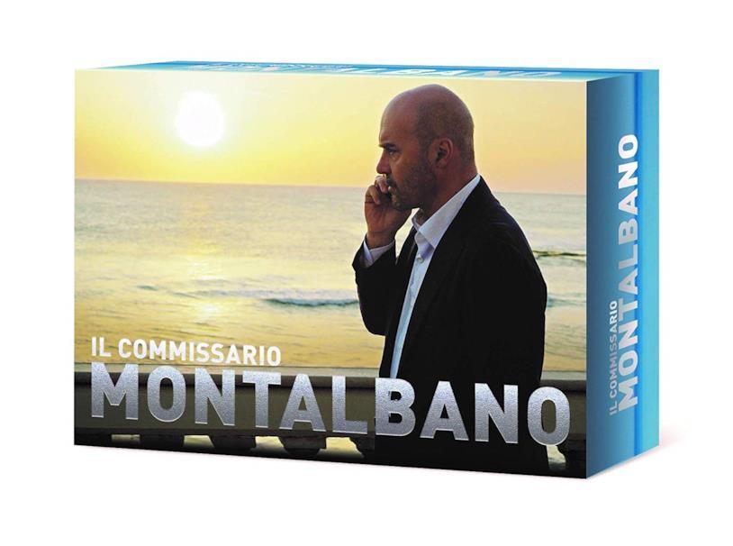 Copertina del cofanetto DVD de Il Commissario Montalbano