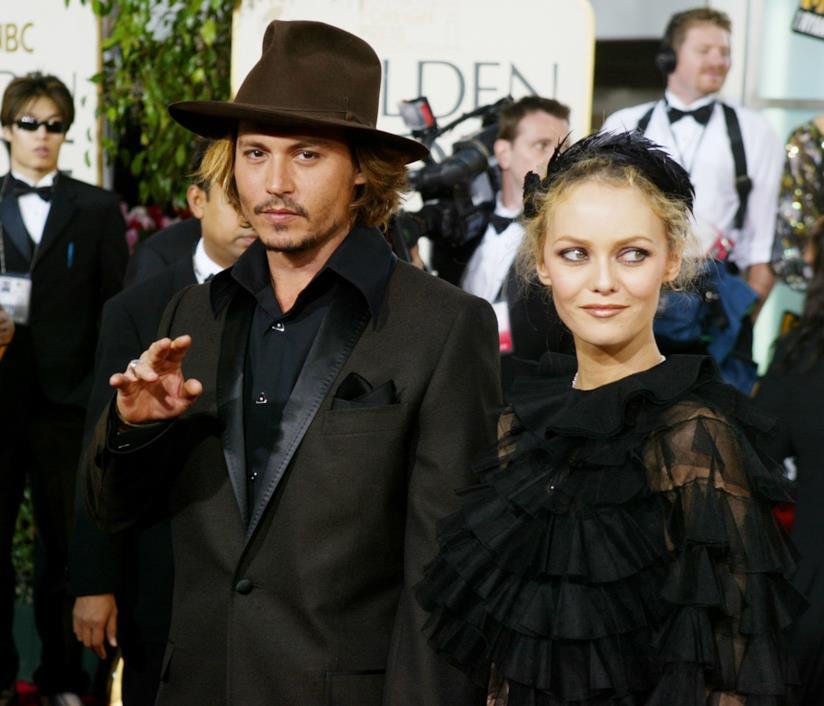 Johnny Depp e Vanessa Paradis sul red carpet