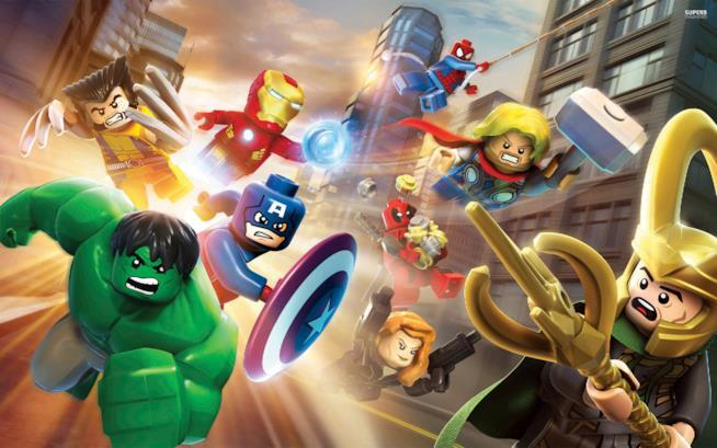 I supereroi Marvel entrano in azione sulla cover del primo LEGO Marvel Super Heroes