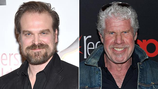 David Harbour e Ron Perlman in due occasioni ufficiali