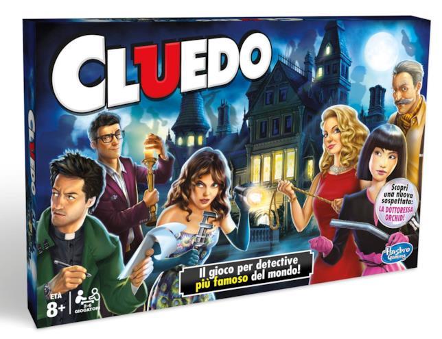 La nuova edizione di Cluedo