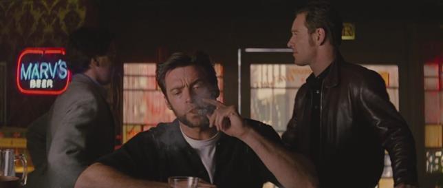 Wolverine in una scena del film