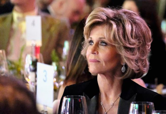 Primo piano di Jane Fonda