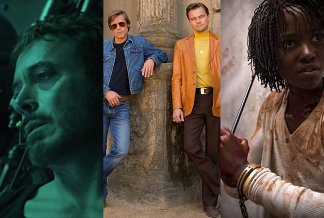 Avengers: Endgame, Once Upon a Time in Hollywood e Us