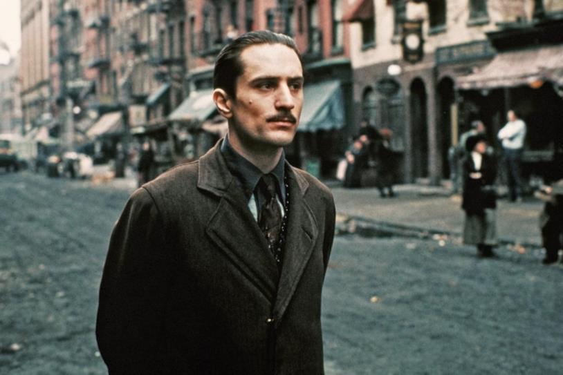 Robert De Niro ne Il Padrino - Parte II