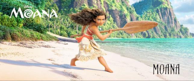 Vaiana, la protagonista di Oceania