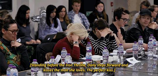 Il cast di GoT scopre del finale toccato a Daenerys