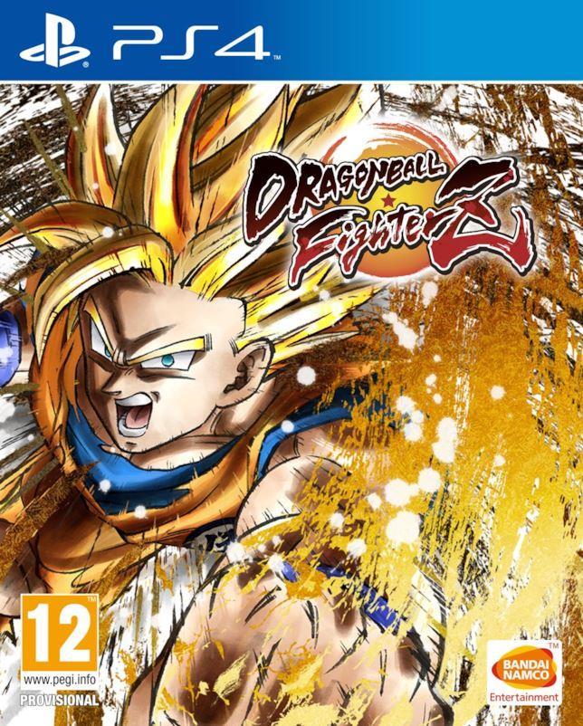 copertina del videogioco Dragon Ball FighterZ