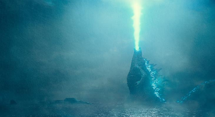 Godzilla in un poster di King of the Monsters