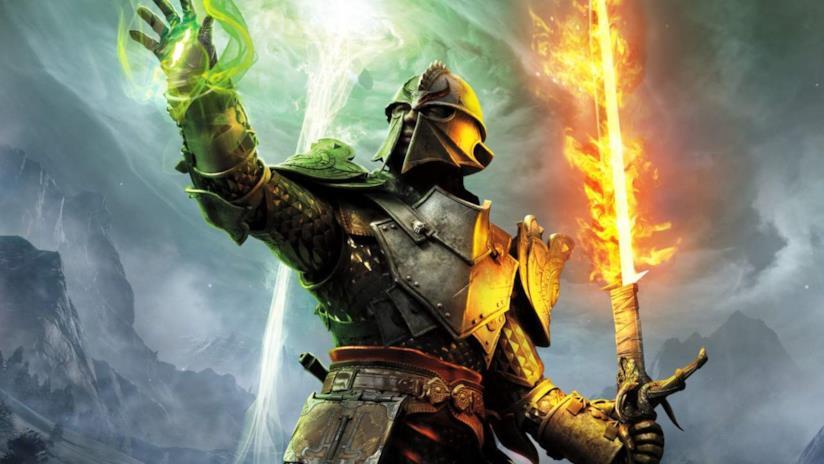Uno degli eroi di Dragon Age Inquisition è pronto a combattere