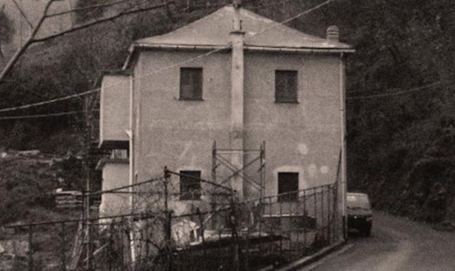 Una foto storica dell'albergo