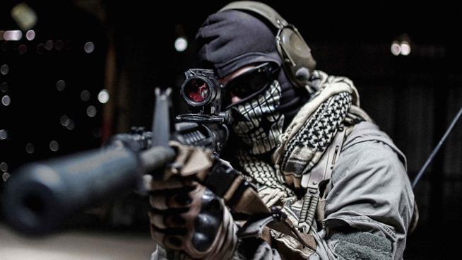 Un'immagine in-game di Call of Duty Ghosts