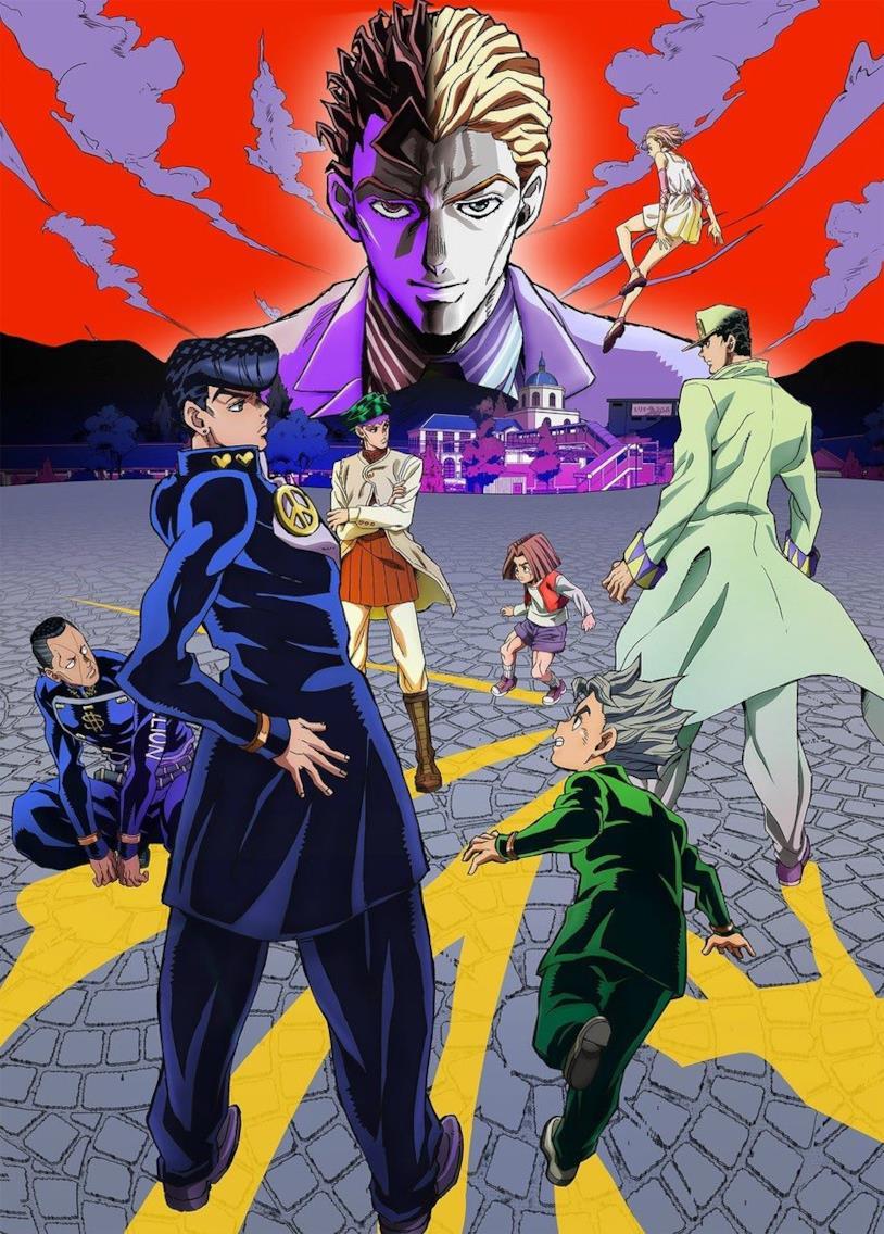 Josuke Higashitaka e altri personaggi parte 4