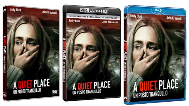 A quiet place versione DVD e Blu-ray
