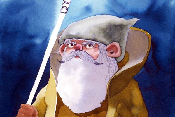Yoda nell'illustrazione di Ralph McQuarrie somiglia di più a Gandalf