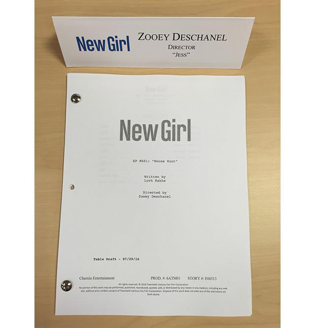 Nel Girl 6, il copione della prima puntata