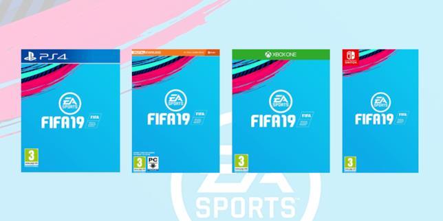Boxart provvisorie di FIFA 19
