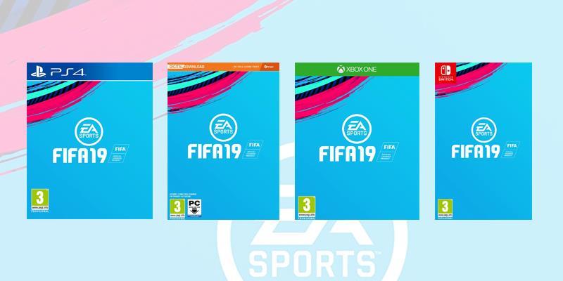 Le quattro versioni di FIFA 19