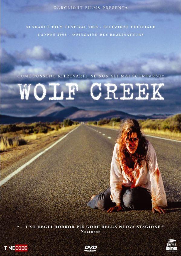 Wolf Creek - La copertina dell'edizione italiana