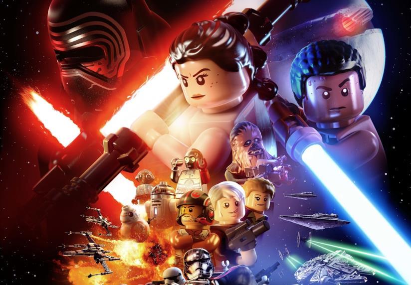 La cover art ufficiale di LEGO Star Wars: il risveglio della Forza