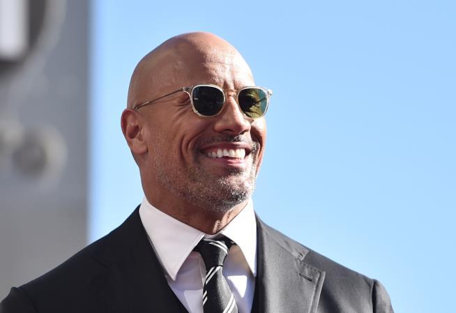 L'attore The Rock