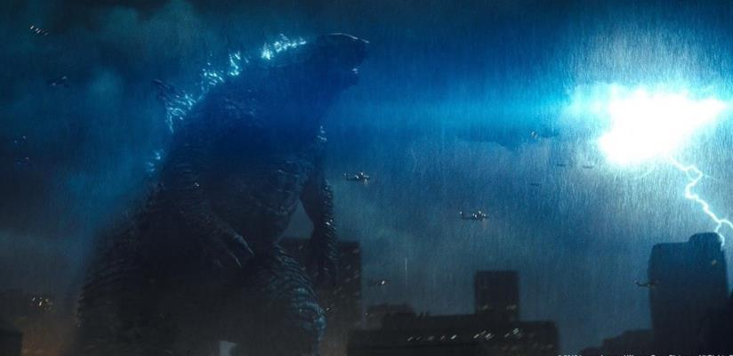 Il sauro atomico in un'immagine di Godzilla: King of the Monsters