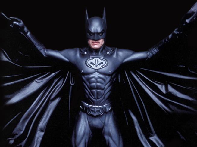 George Clooney è Batman in