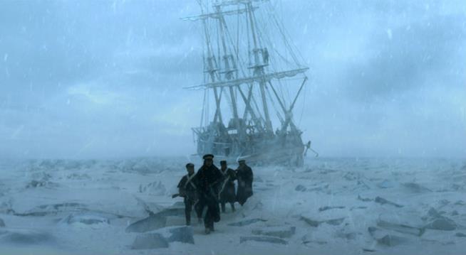 Un'immagine presa dalla prima stagione di The Terror