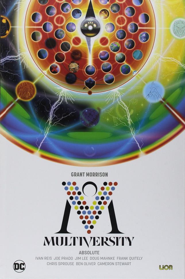 La cover di Multiversity